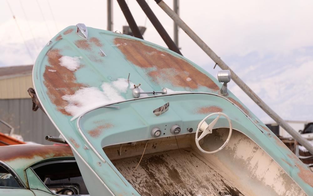 SLC Junkyard Boat