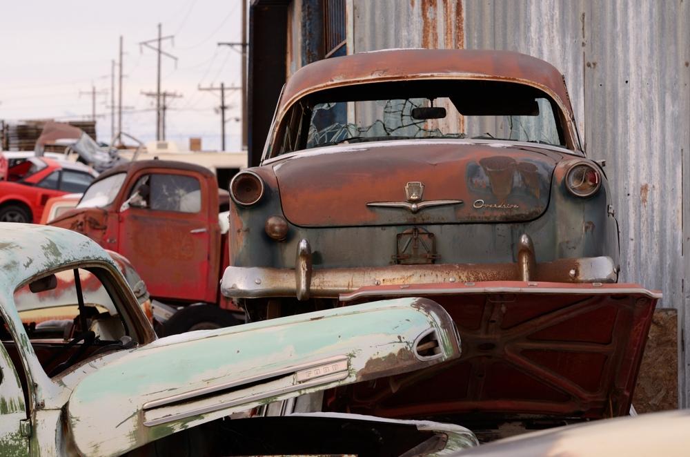 SLC Junkyard Ford Overdrive